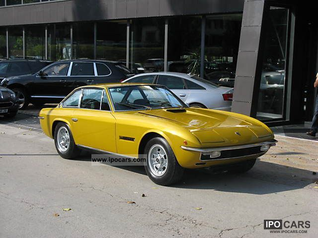 Lamborghini  Islero GTS 1970 Vintage, Classic and Old Cars photo