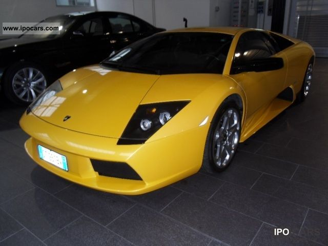 2005 Lamborghini Murcielago Murcielago E Gear Sports Car/Coupe