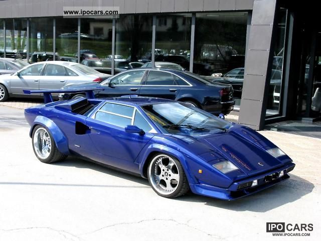 1982 Lamborghini Countach Car Photo And Specs