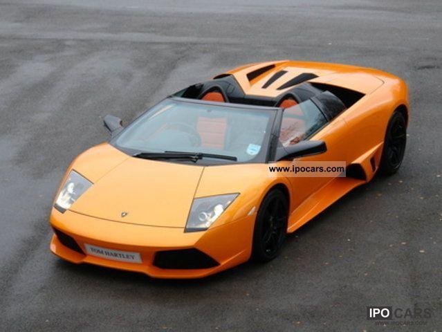 2007 Lamborghini Murcielago Lp640 Roadster E Gear Car Photo And Specs