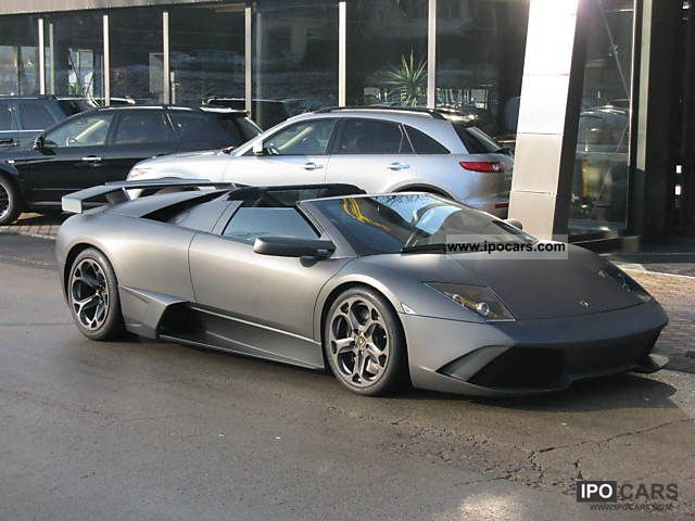 2006 Lamborghini Murcielago Gtr Matt Grey Car Photo And Specs