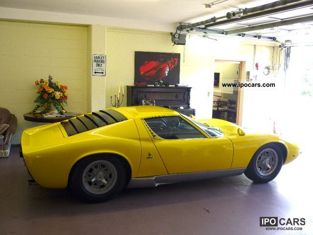 Lamborghini  Miura S 1970 Vintage, Classic and Old Cars photo