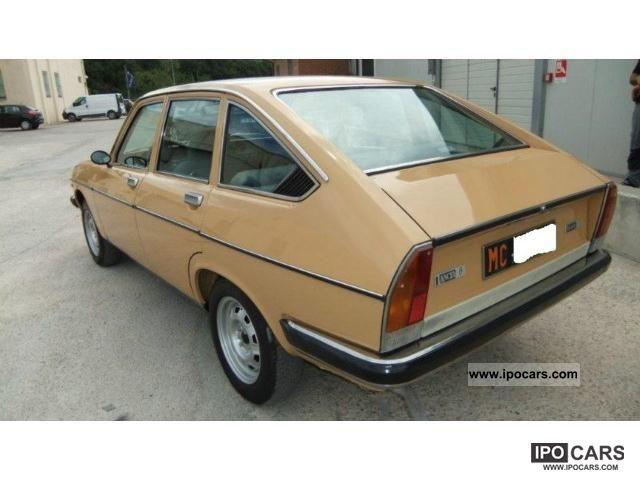 1977 lancia beta berlina 1 600 asi libretto tagliandi car photo and specs. Black Bedroom Furniture Sets. Home Design Ideas