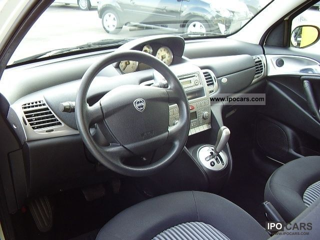 2008 lancia ypsilon 1 4 16v oro plus 6m car photo and specs for Interno lancia y