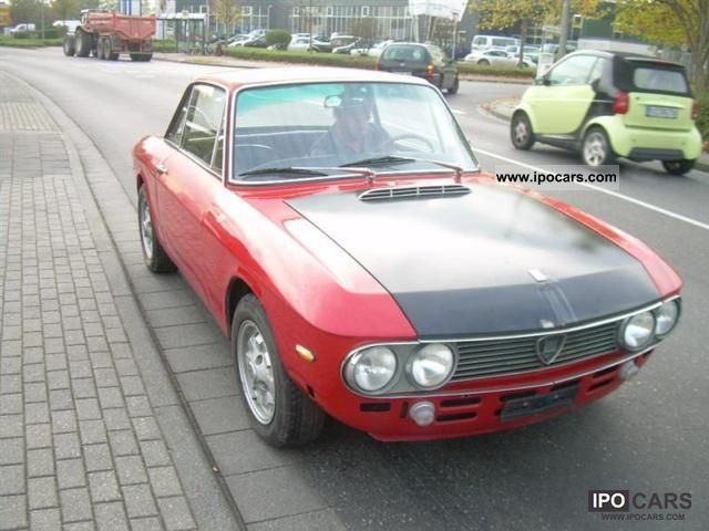 Lancia  Fulvia Coupe Rallye 1.3 s-5-gang! VINTAGE! 1971 Race Cars photo