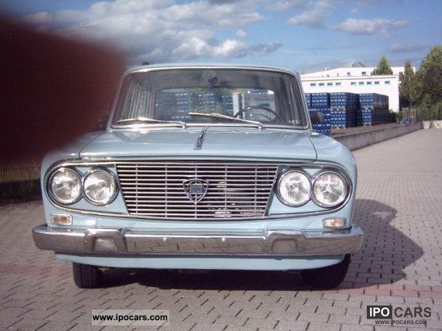 Lancia  Fulvia Berlina Year 63 original 1963 Vintage, Classic and Old Cars photo