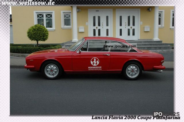 1971 Lancia  Flavia Coupe Pininfarina 2000 Sports car/Coupe Classic Vehicle photo