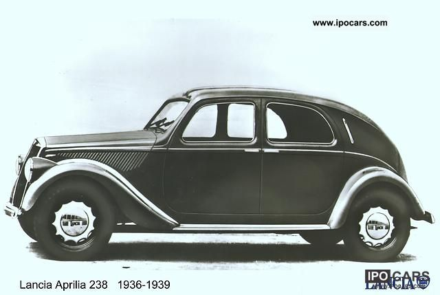 Lancia  Aprilia 438 Sedan 1941 Vintage, Classic and Old Cars photo