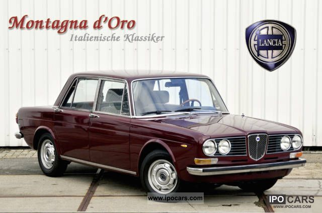 Lancia  2000 sedan 1973 Vintage, Classic and Old Cars photo