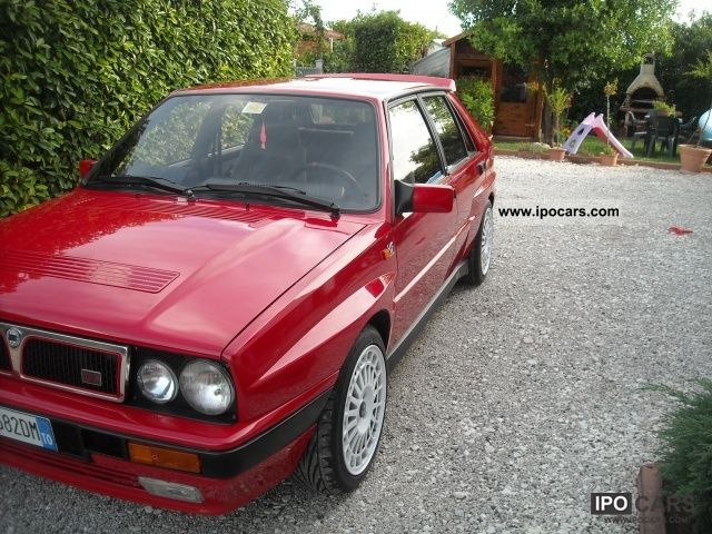 1989 lancia delta 16v turbo hf integrale car photo and specs. Black Bedroom Furniture Sets. Home Design Ideas