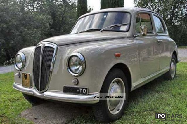 Lancia  Appia 1 ^ K series 1955 Vintage, Classic and Old Cars photo
