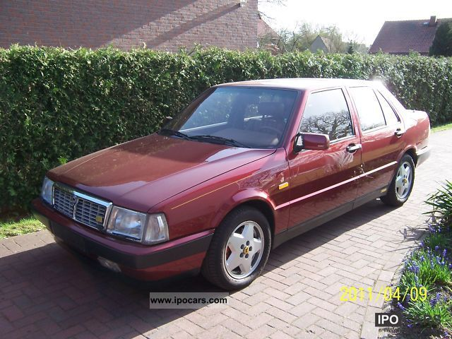 1988 Lancia Thema 16v Turbo Estate Related Infomation