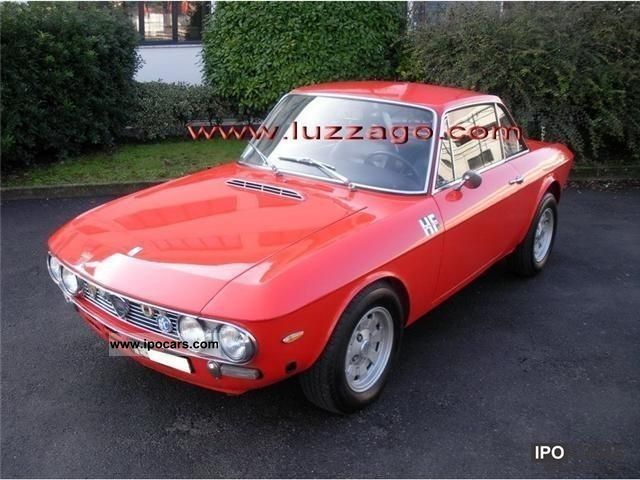 Lancia  Fulvia Coupe HF 1600 S 2 (818 740) 1971 Vintage, Classic and Old Cars photo