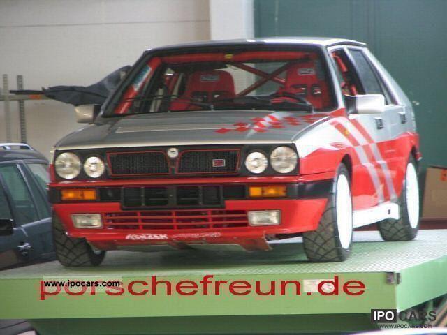 1989 Lancia Delta Integrale 16v Holzer Race Rally Gr N