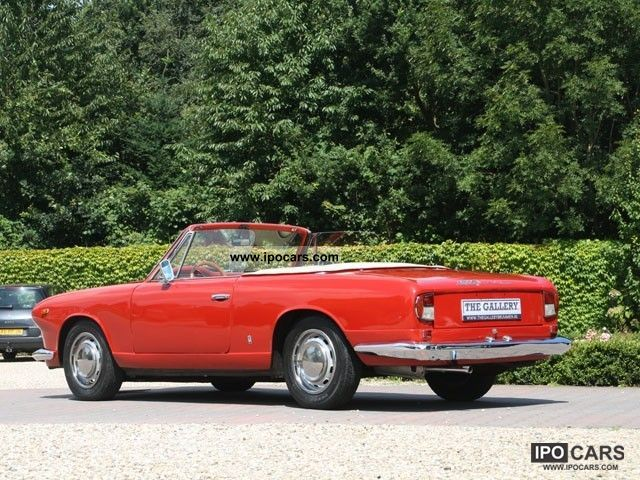 1968 lancia flavia convertible car photo and specs. Black Bedroom Furniture Sets. Home Design Ideas