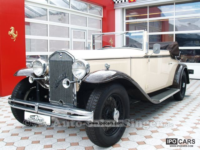Lancia  Dilambda 227 1930 Vintage, Classic and Old Cars photo