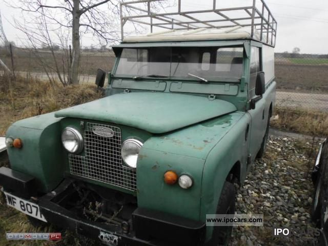 1980 Land Rover  Defender anglik Off-road Vehicle/Pickup Truck Used vehicle photo