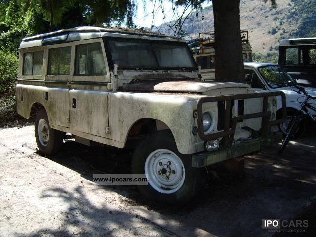 Land Rover  Defender Defender 109 Lungo D 1972 Vintage, Classic and Old Cars photo
