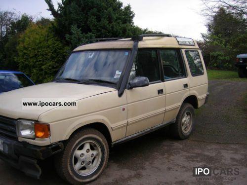 1997 Land Rover  300 TDi Auto RHD GB Import Off-road Vehicle/Pickup Truck Used vehicle photo