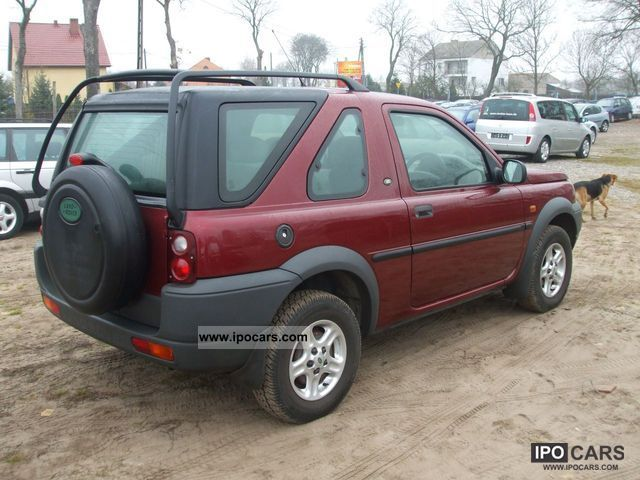 2002 land rover freelander 1 8 benzyna car photo and specs. Black Bedroom Furniture Sets. Home Design Ideas