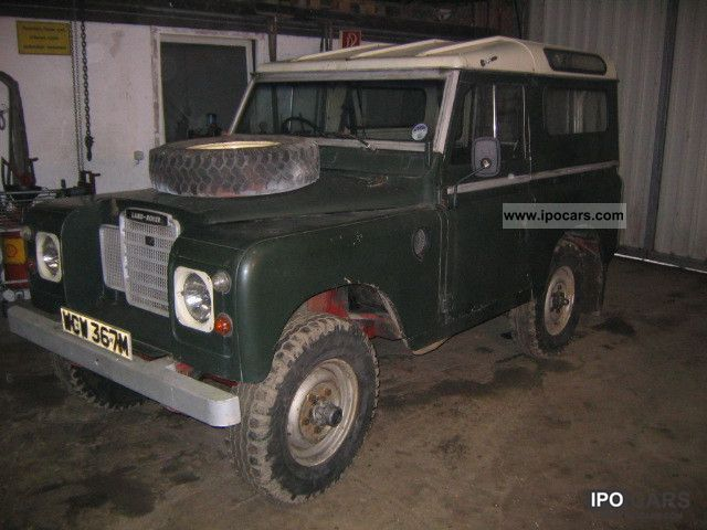 Land Rover  Series III 1973 Vintage, Classic and Old Cars photo