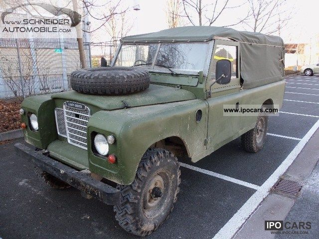 Land Rover  SERIES III / 48000km / h - APPROVAL 1974 Vintage, Classic and Old Cars photo