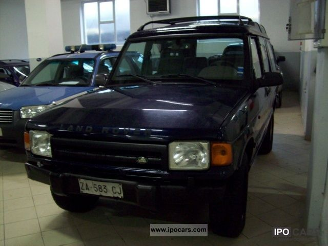 1996 Land Rover  Discovery 2.5 Tdi porte 3 Country Estate Car Used vehicle photo
