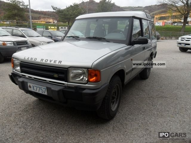 1999 Land Rover  Discovery TD5 2500 three PORTE Off-road Vehicle/Pickup Truck Used vehicle photo