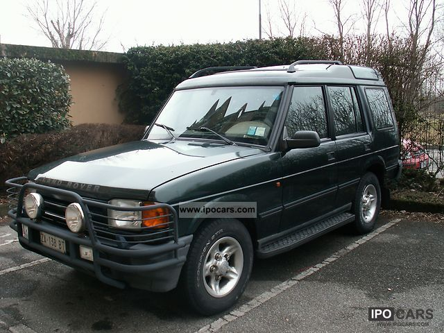 1998 Land Rover  Discovery Off-road Vehicle/Pickup Truck Used vehicle photo