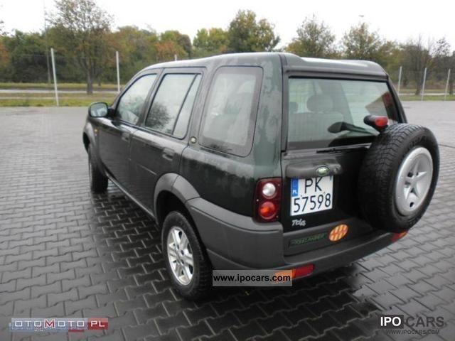 2001 land rover freelander 2 0 td 4 zarejestrowany car. Black Bedroom Furniture Sets. Home Design Ideas