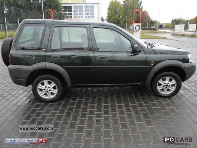2001 land rover freelander 2 0 td 4 zarejestrowany car photo and specs. Black Bedroom Furniture Sets. Home Design Ideas