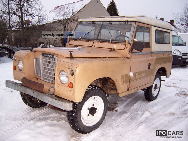 Land Rover  Defender 2.3 Country 1978 Vintage, Classic and Old Cars photo