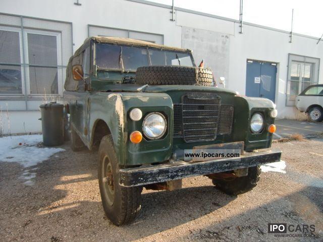 1980 Land Rover  Defender Series III Off-road Vehicle/Pickup Truck Used vehicle photo