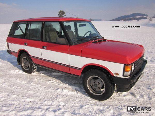 1990 Land Rover  Range Rover Vogue EFi auto Off-road Vehicle/Pickup Truck Used vehicle photo
