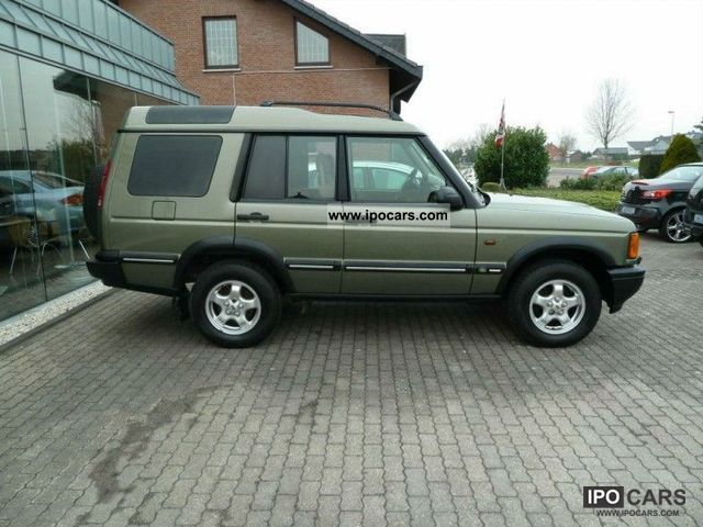 2000 Land Rover Discovery Td 5 Car Photo And Specs