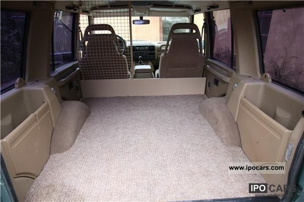 2000 Land Rover Discovery 3 9 V8 Van Car Photo And Specs