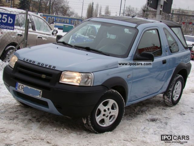 2004 Land Rover  Freelander SALON PL + MAŁY PRZEBIEG KM Other Used vehicle photo