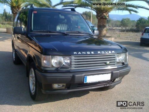 2000 land rover range rover 4 6 hse auto car photo and specs. Black Bedroom Furniture Sets. Home Design Ideas