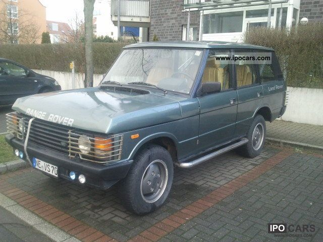 1989 Land Rover  Range Rover Turbo Diesel Off-road Vehicle/Pickup Truck Used vehicle photo