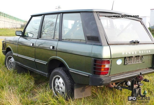 1991 Land Rover  Range Rover Vogue with up to 8 tons of towing capacity! Off-road Vehicle/Pickup Truck Used vehicle photo