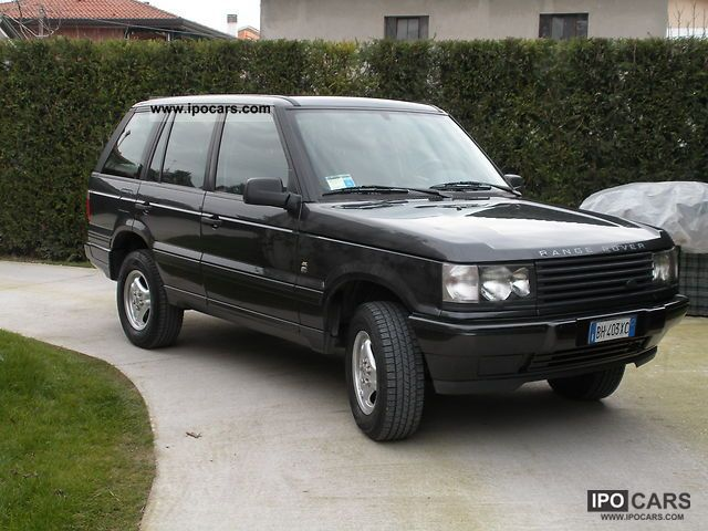 2000 land rover range rover 2 5 td car photo and specs. Black Bedroom Furniture Sets. Home Design Ideas