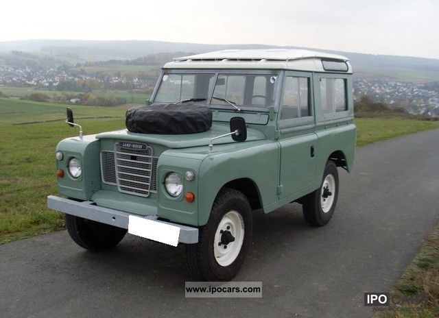1980 Land Rover Defender - Car Photo and Specs