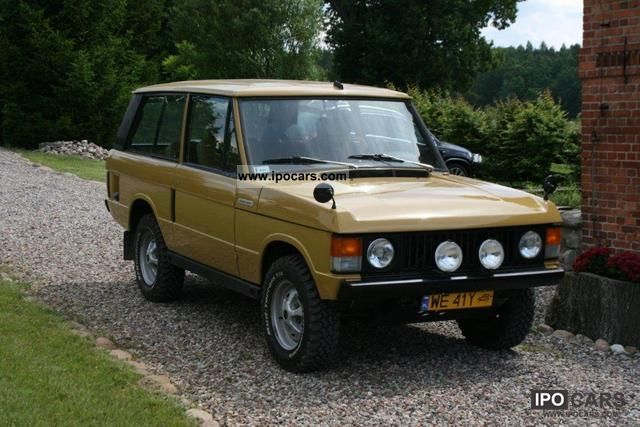 Land Rover  Range Rover Classic 1976 Vintage, Classic and Old Cars photo