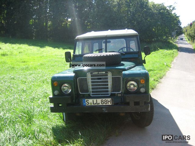 Land Rover  Series III-H TÜV mark NEW! 1979 Vintage, Classic and Old Cars photo