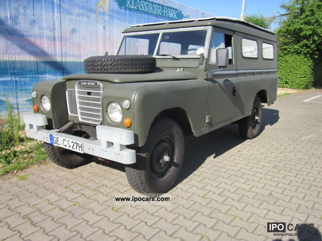 1979 Land Rover  Series II, type 109 Off-road Vehicle/Pickup Truck Used vehicle photo