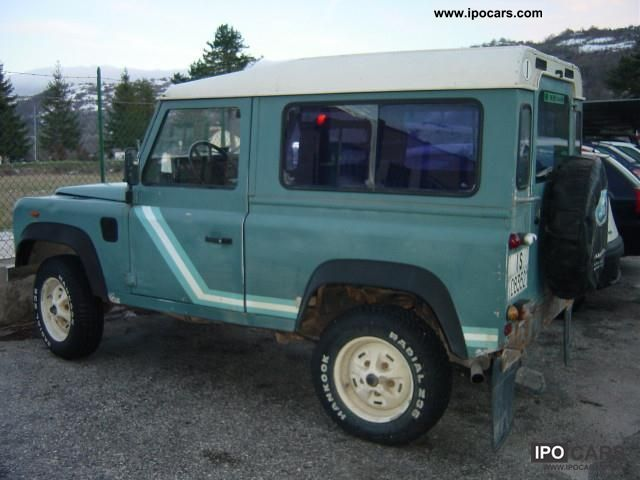 1987 Land Rover  Defender turbo diesel autocarro Other Used vehicle photo