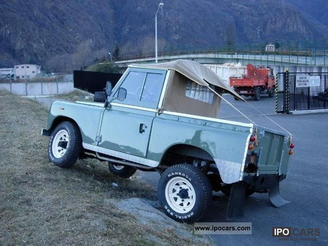 1972 Land Rover  88 III Series Off-road Vehicle/Pickup Truck Used vehicle photo