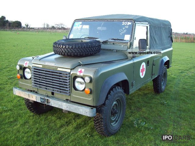 1986 Land Rover  110 ex military Army FFR RHD Off-road Vehicle/Pickup Truck Used vehicle photo
