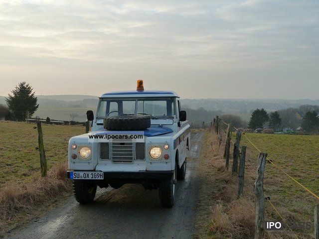 Land Rover  Series III 1974 Vintage, Classic and Old Cars photo