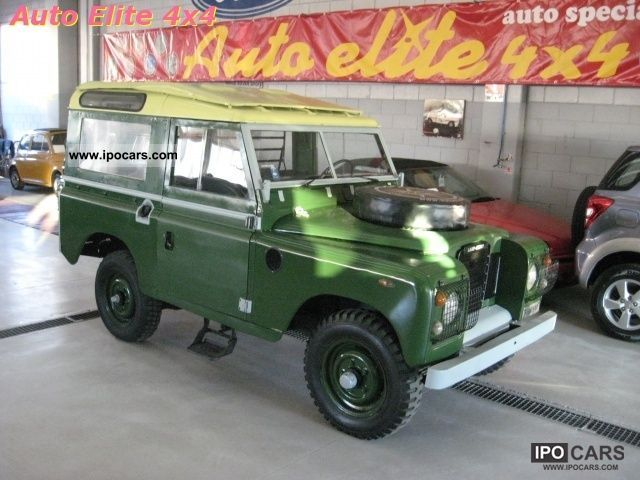 1977 Land Rover  Defender 88's diesel wagon Off-road Vehicle/Pickup Truck Used vehicle photo